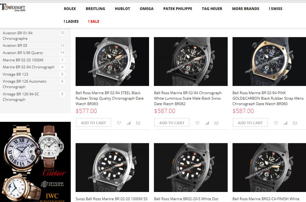 replica bell&ross watches sale on scopical.com.au