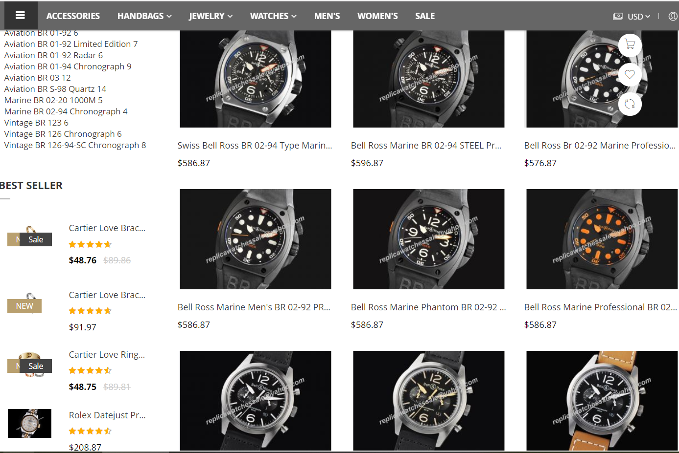 replica belll&ross watches sale on rus.tl