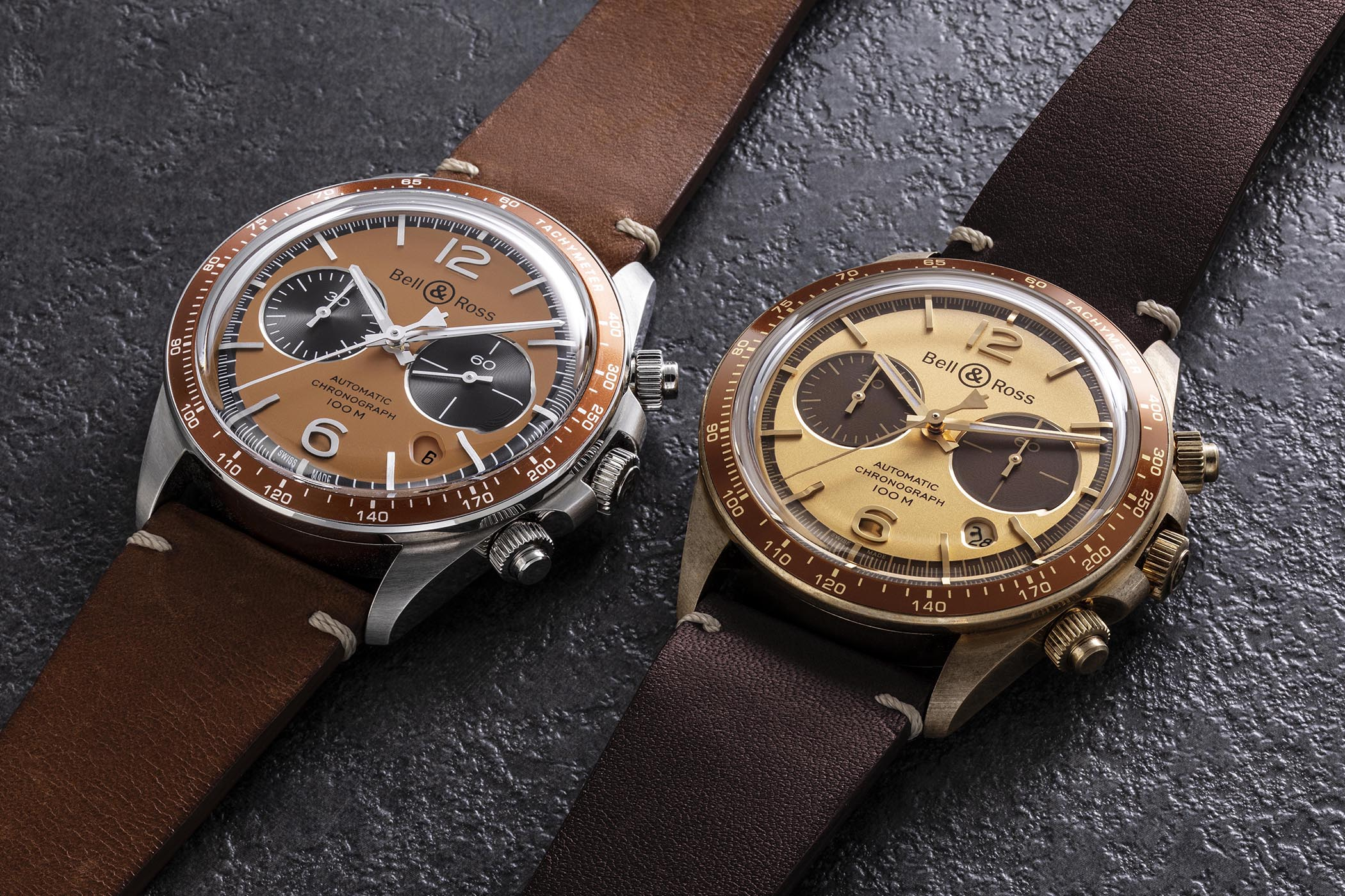 Bell & Ross Vintage Belly Tanker El Mirage and Dusty